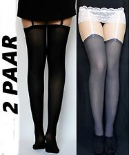 5 Pairs Thick Suspender Hold UPS 67 Den Various Colors S-xl The Classic EU Dark Blue