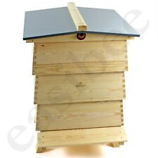 Decorative Beehive Garden Ornament Storage WBC Style Imitation Bee Keeping Pine