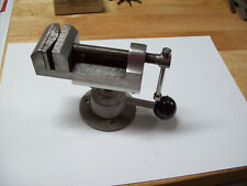Watchmaker Bench Vice, Looks to be Home Made But is Well Built Has Pivoting Base