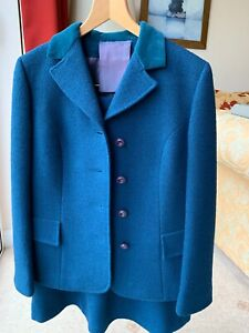 Genuine 70's Ladies Tailor Made Wool Skirt Suit