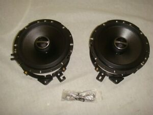 """ALPINE S-S65 TWO-WAY 6.5"""" COAXIAL CAR STEREO SPEAKERS"""