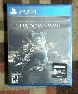 Middle-Earth: Shadow of War - (Sony PlayStatioN 2017) Brand New