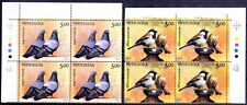 India 2010 MNH 2v in Blk, Colour Guide, Birds, Pigeon, Sparrow -G45