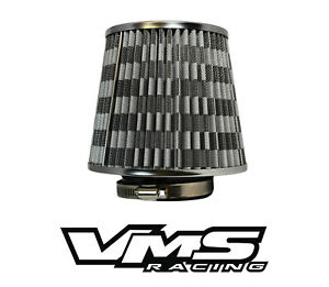 VMS RACING 3 INCH AIR INTAKE HIGH FLOW AIR FILTER FOR SUBARU IMPREZA WRX STI