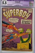 SUPERBOY #89 CGC 5.5 1ST MON-EL