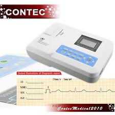 ECG100G 1CH single ECG EkG machine électrocardiographe electrocardiograph CONTEC