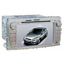 "AUTORADIO GPS FORD FOCUS MONDEO S-MAX 7""HD USB SD MP3 3G CANBUS DVR NO DOGANA ES"