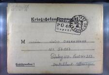 Camp Stalag IID Stargard 1940 POW Prisoner of War Kriegsgefangenenpost L40