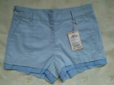 DressNStyle NWT SEMIR Urban Original Light Blue Sexy Summer Casual Shorts S26