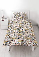 NEW WONDER WOMAN MOVIE SINGLE DUVET QUILT COVER SET GIRLS KIDS CHILDRENS BEDROOM