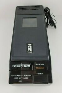 Sheritech VHS Rewinder Model SV500 Vintage Rare