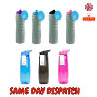 750ML Gym Sports Training Running Jogging Light Weight Bottle Water Hydration UK