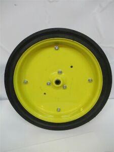 """John Deere AN211864, 4.5"""" x 16"""" Gauge Wheel Assembly - 750 & 1850 Drill"""