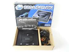 SEGA SATURN Noir Console Boxed Big Box