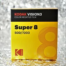 *NEW* Kodak Vision3 Super8 50D / 7203 Vision3 Color Negative film
