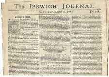 More details for ipswich journal 6 august 1763