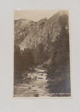 The Pass Of Aberglaslyn - Old Picture Postcard