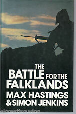 The Battle for the Falklands by Simon Jenkins & Max Hastings (BCA edition h/bk)