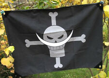 One Piece Edward Newgate Pirate Drapeau Flag Cosplay