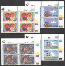 RSA 1994 Peace/Art/Doves/Birds/Children 4v c/b (n26034)