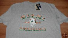 University of Miami Hurricanes T-shirt Small Reebok