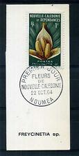 Nouvelle Calédonie, timbre 314  Fleurs oblitéré 1° jour
