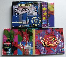 U2 ZOOROPA SET BOX 3 CD Album Aussie & Single Limited Edition