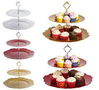 Cupcake Stand Afternoon Tea Babyshower Serving Display Cakes New Fittings