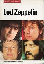 PAYUL KENDALL & DAVE LEWIS LED ZEPPELIN IN THEIR OWN WORDS REPRINT EDITION PB 95