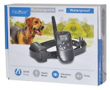 Collar de Adiestramiento Canino para Perros Sumergible Antiladridos Petrainer