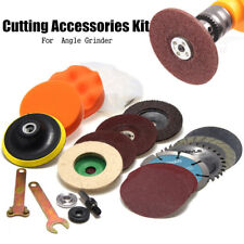 Cutting Polished Accessories Kit For Wrench Hand Drill Variable Angle Grinder US