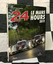 2011 LE MANS 24 HOURS OFFICIAL YEARBOOK ANNUAL ENGLISH AUDI R18 FASSLER LOTTERER