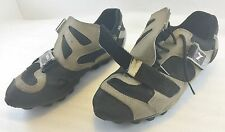 Diadora Womens 8.5US 40EU Bike Cycling Shoes Strap Black Brown