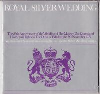 ROYAL SILVER WEDDING 1972 SOUVENIR PACK BOOK QEII PRINCE PHILLIP