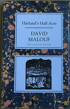 Harland's Half-acre by David Malouf Hardback The Collected Edition First