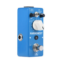 AROMA AHAR-5 HARMONIST Pitch Shifter Guitar Effect Aluminum Alloy Blue N8S5