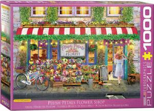 EuroGraphics - Plush Petals Flower Shop - 1000 piece jigsaw puzzle EG60005518
