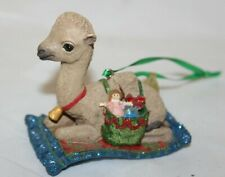 "Danbury Mint Baby Animal Christmas Ornament Series ""Camel"""