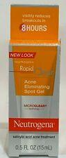 Neutrogena Rapid Clear Acne Eliminating Spot Gel 0.50 oz / 15ML  NEW SALE