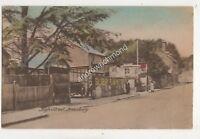 High Street Amesbury Wiltshire 1922 Postcard W Hough 691b