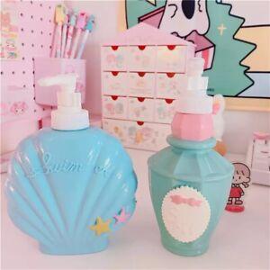 ART DECO SOAP DISPENSER GEL SHAMPOO DISH SHELL PASTEL VINTAGE 60s 250/350 ml