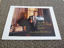Michael Badalucco The Practice Signed 8.5x11 Computer Printed Photo READ DAMAGED