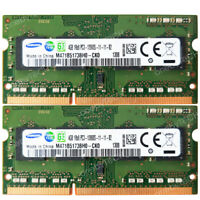 Samsung 8GB 2x4GB 1Rx8 PC3-12800S DDR3-1600 CL11 204 Pin 1.5v  SODIMM Memory