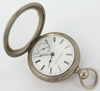 ".*SUPER RARE 1873 ELGIN ""B W RAYMOND"" 18S 15J POCKET WATCH. ONLY 29,154 MADE."