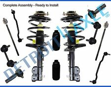 (12pc) Front Strut Sway Bar Link Inner Outer Tierod Kit for 04-08 Nissan Maxima