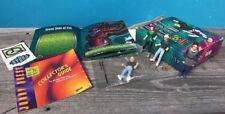 Jonny Quest Action Figures Mixed Lot of 4 W/ 1 Box Stickers Booklets Jessie Girl