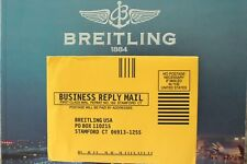 BREITLING E65062 AEROSPACE PAPERWORK WATCH OWNERS ILLUSTRATED MAIL-IN ENVELOPE