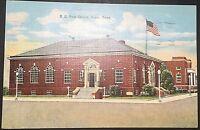 Post Office Paris Tennessee Vintage Postcard Linen Postmark 1942 D128