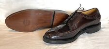 Florsheim Imperial 93605 Shell Cordovan Long Wing Dress Shoes Sz 9E NWOT