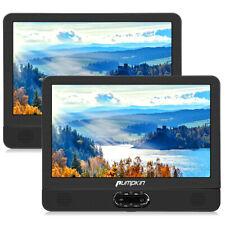 "2x12"" Auto Kopfstützen DVD CD Player Monitor Spieler Dual Bildschirm USB/SD AV"